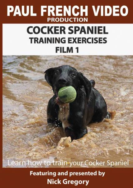 Cocker Spaniel Training Exercises with Nick Gregory - Film 1